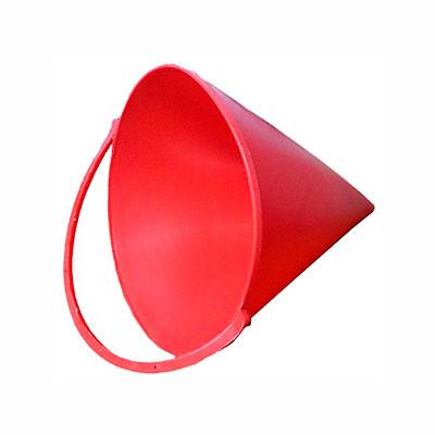 Ведро конусное пластик для щитов